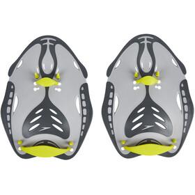 speedo Biofuse Power Paddles Unisex oxid grey/lime punch/cool grey